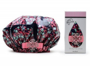 Dry Divas Shower Cap Cranberry Mint