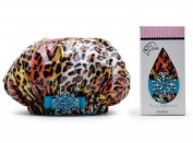 Dry Divas Shower Cap Diva Cheetah