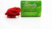Beauty Secrets All Natural Shea Butter Soap Handcrafted Henna Fair Trade Made in Ghana 85g