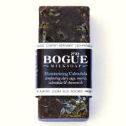 Bogue Milk Soap - No.23 Moisturising Calendula Bar- Comforting Clary Sage & Myrrh with Healing Calendula and Infused Chamomile Oils