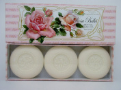 "Saponificio Artigianale Fiorentino, Rosa Bella ""Rose"" Luxury Soap, 3 x 160ml Imported from Italy"