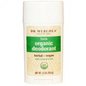 Dr. Mercola Organic Deodorant, Fresh, 70ml