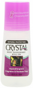 Crystal Body Deodorant Roll-On, Unscented, 70ml