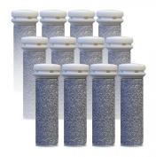 Emjoi Micro-pedi Replacement Refill Rollers (Super Coarse) - Pack of 12