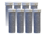 Emjoi Micro-pedi Replacement Refill Rollers (Super Coarse) - Pack of 8