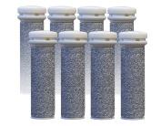 Emjoi Micro-pedi Replacement Refill Rollers (Super Coarse) - Pack of 8