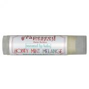 The Grapeseed Company Santa Barbara Seasonal Lip Balm, Honey Mint Melange