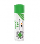 New Moraz Natural Herbal Mint Flavour Lip Balm Protects from Dryness, 5ml