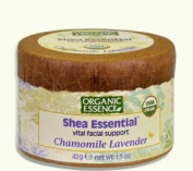 Shea Essential Vital Facial Support Chamomile Lavender By Organic Essence