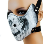 Demon Skull Motorcycle Face Mask by ppmarket