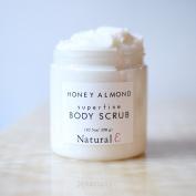 Honey Almond Body Scrub/ Body Polish/ Sugar Scrub