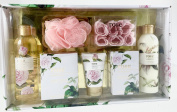 Mind Body & Soul Rose Bath Set