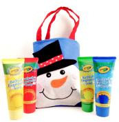 Crayola Bathtub Fingerpaint Soap in Holiday Gift Bag (4) 90ml Tubes