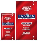 Janina Ultra White Maxiwhite Whitening Strips - 7 Day System