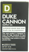Duke Cannon Big American Brick of Soap, Black, Smells Like Accomplishment, Bergamot and Black Pepper, 300ml