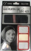 Donna Collection Hair Weaving Cap 5 Pieces Net Set #11070
