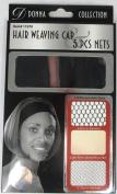 Donna Collection Hair Weaving Cap 5 Pieces Net Set #11070