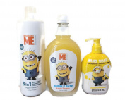 Despicable Me Minion Bath Bundle - 3 Items