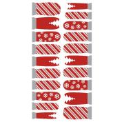 Winstonia Designer Nail Wrap - Holiday Cheers