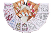 Nail Art Water Slide Tattoo Stickers Decals ♥ Immense Designs
