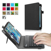 Fintie iPad mini 4 Keyboard Case - Premium PU Leather Folio Stand Cover with Removable Wireless Bluetooth Keyboard for Apple iPad mini 4 (2015 Release), Black