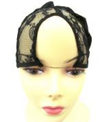 (Centre Parting) U-Part Wig Cap