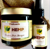 Hemp Hair Masque & Hemp Oil Combo