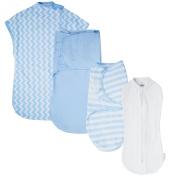 SwaddleMe 1st Year Safe Sleep Gift Set, Blue
