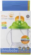 Innobaby Sippin' Smart EZ Flow Straw Sippy Cup, Green, 300ml