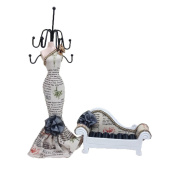 2pc Display Holder Mannequin Elegant Dress Jewellery and Sofa For Rings With Printing
