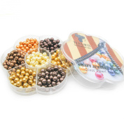 TOAOB Glass Pearl Beads yellow fastens Round 6mm Wholesale for Jewellery Making 350pcs