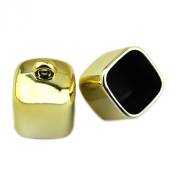PendantScarf Fashion Gold Tone Plastic Square DIY Jewellery Scarf Beads Caps