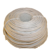 White Fibre Rush 6/32 in a 0.9kg Coil (90m) White Fibre Rush Ladderback Chairs Seating Material