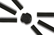 Glue Gun Sealing Wax -Black- Pack of 6