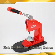 """For Flashing Button Making Makerr1.8mm(0.07"""") Hole Punch Machine Grommet Press"""