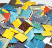 Hakatai Glass Mosaic Tile 1.6cm - ½ Pound Rainbow Bright Blend FBL08