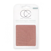 Craft Consortium Decoupage Printed Paper Pack of 3 - CP113 Corrugated Textured Board