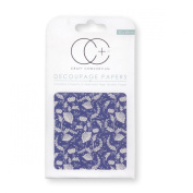 Craft Consortium Decoupage Printed Paper Pack of 3 - CP164 Floral Porcelain 2