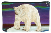 Polar Bear Cosmetic Bag, Zip-top Closer - Taken From My Original Paintings