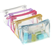 Sealike Waterproof Clear Transparent PVC Cosmetic Bag Organiser Makeup Bag Pouches Bag Tote Bag for Travel with Stylus