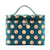 Cherry-pattern Big Travel Wash Organiser Case Toiletry/cosmetic/makeup Zipper Bag