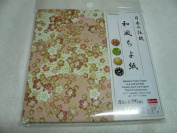 Traditional Japanese Style Chiyogami of Japan 4 Each 25 Sheets Pattern