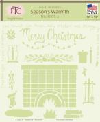 Fairytale Creations Christmas Stencil Set, 30cm L X 30cm H