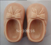 Creativemoldstore 1pcs A Pair of Baby Shoes (ZX931) Craft Art Silicone Soap Mould Craft Moulds DIY Handmade Soap Mould