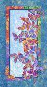 Marblehead Butterflies are Free by Ro Gregg Quilt Fabric 60cm x 110cm Panel