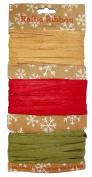 Gift Wrap Raffia Ribbon, 8 yd x .60cm