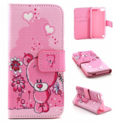 iPod Touch 5 Cover Case,Touch 6 Case, SAVYOU PU Leather Wallet Stand Magnet Design [Card/Cash Slots] Flip Case Cover for Apple iPod Touch 5/6 Case