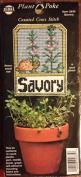 Plant Poke - Counted Cross Stitch - Savoury