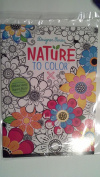 Nature to Colour Colouring Book Design Series