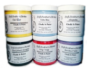Chalk It Paint, 6 Pack, Coal Miner's Daughter, Carolina Fields, Delta Blue, Old Yeller, Hotty Toddy, Magnolia, 240ml